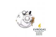 Редуктор Bigas M91 (метан) спаренный, 2-3-е пок., эл., 270 л.с. (200 кВт), вход D 6 (M12x1), выход D18