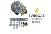 Редуктор Bigas RI.23 (метан) 4-е пок., до 190 л.с. (до 140 кВт) с ЭМК газа, вход D6 (M12x1), выход D10