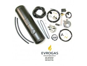 Комплект Евро 2 инжектор редуктор Tomasetto, баллон цилиндр 50 л.