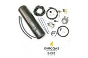 Комплект Евро 2 карбюратор редуктор Tomasetto, баллон цилиндр 50 л.