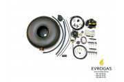 Комплект Евро 4 STAG-8 ISA 2, ред. Gurtner Luxe, форс. Hana Single, наружный тор. 89 л., расходники