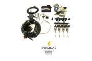 Комплект STAG-4 Q-BOX BASIC, ред. Artic 160 л.с., ДТР, форс. Hana Rail, МН, штуцера, ф. 1-1