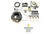 Комплект STAG-4 Q-BOX PLUS, ред. Gurtner Basic 245 л.с., форс. Hana Rail, МН, штуцера, ф 1-1, ГК