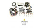 Комплект STAG-8 ISA 2, ред. Gurtner Luxe S 310 л.с., форс. Hana Rail, МН, штуцера, ф 1-2, ГК