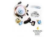 Миникит Lovato, вакуумный 2-е поколение, пропан-бутан (редуктор+кнопка+бенз.+газовый клапан)